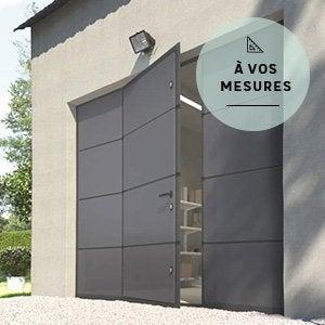 Menuiserie ext rieure fen tre porte d 39 entr e store banne leroy merlin - Porte de garage avec fenetre ...
