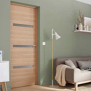 Porte Coulissante Porte Intérieur Verriere Escalier Menuiserie - Porte placard coulissante avec portes interieures vitrees modernes