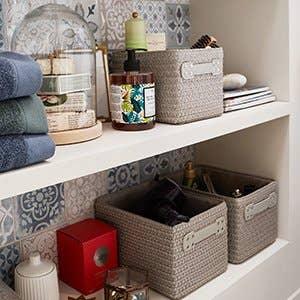Salle de bains leroy merlin - Rangement serviettes salle de bain ...