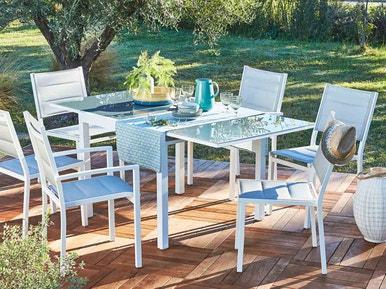 Comment choisir sa table de jardin ?   Leroy Merlin