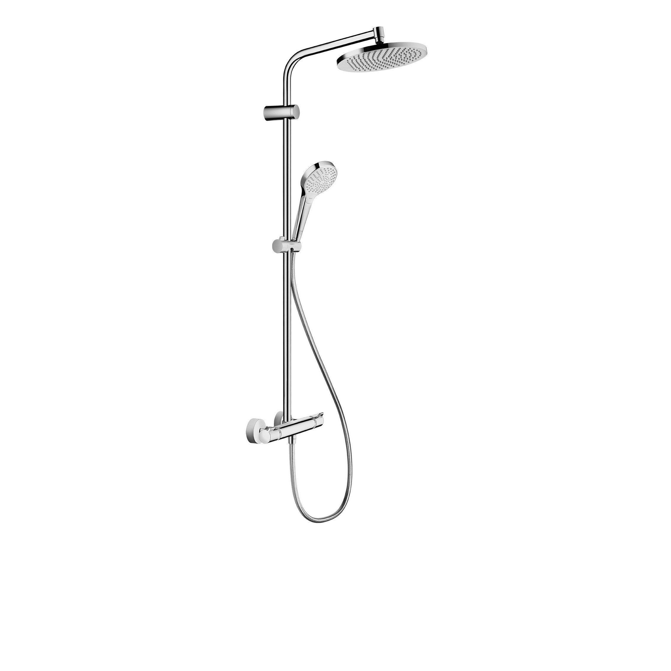 Colonne de douche avec robinetterie, HANSGROHE Lmh s 240 showerpipe