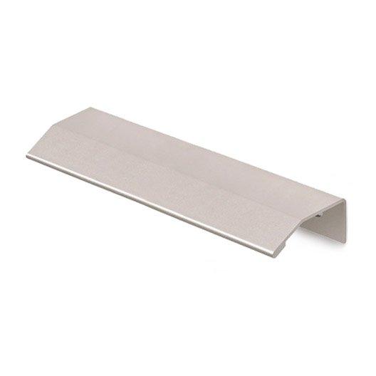 poign e de meuble dsp aluminium anodis entraxe 576 mm leroy merlin. Black Bedroom Furniture Sets. Home Design Ideas