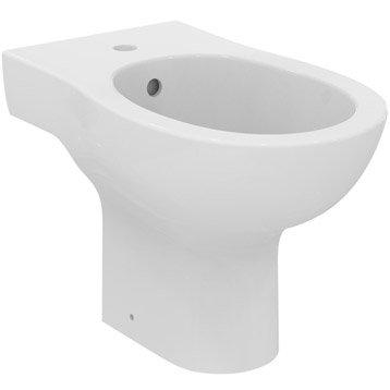 Bidet wc abattant et lave mains toilette leroy merlin - Wc avec lave main leroy merlin ...