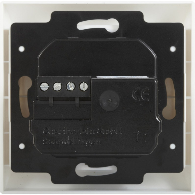 Interrupteur Programmable Volet Roulant.Horloge Programmable Pour Motorisation De Volet Roulant Chamberlain T1eml 05