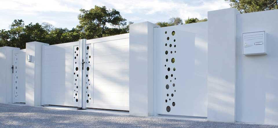 Comment choisir son portail leroy merlin - Portail maison moderne ...