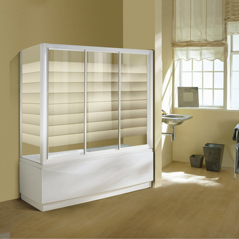 pare baignoire 1 volet int gral cm europa4 leroy merlin. Black Bedroom Furniture Sets. Home Design Ideas