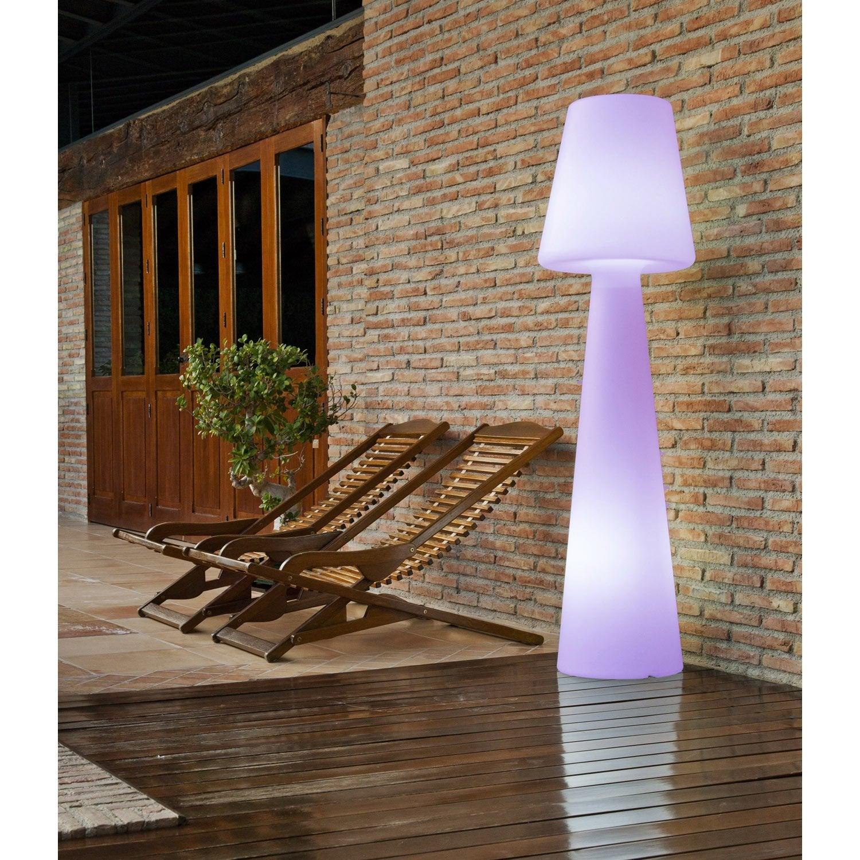 lampadaire 165 cm led int gr e 2 5 w 165 lm couleurs. Black Bedroom Furniture Sets. Home Design Ideas