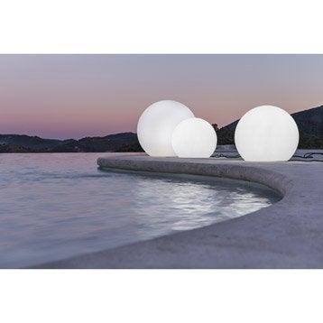 Boule décorative extérieure Buly 60 cm E27 25 W = 880 Lm, blanc NEWGARDEN