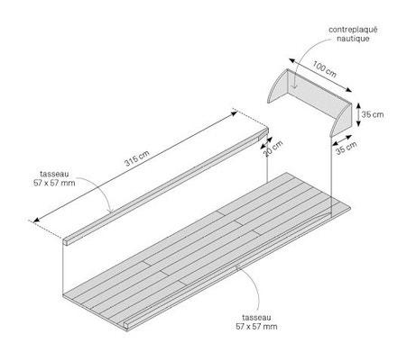 D coupez les lambourdes aux bonnes dimensions pour former le cadre - Dimension piste bowling ...