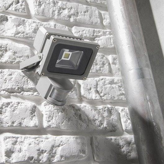 Projecteur D Tection Ext Rieur Yonkers Led Int Gr E 10 W