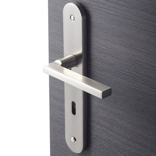 poign e de porte int rieure poign e chambre wc salle de bain bureau au meilleur prix. Black Bedroom Furniture Sets. Home Design Ideas