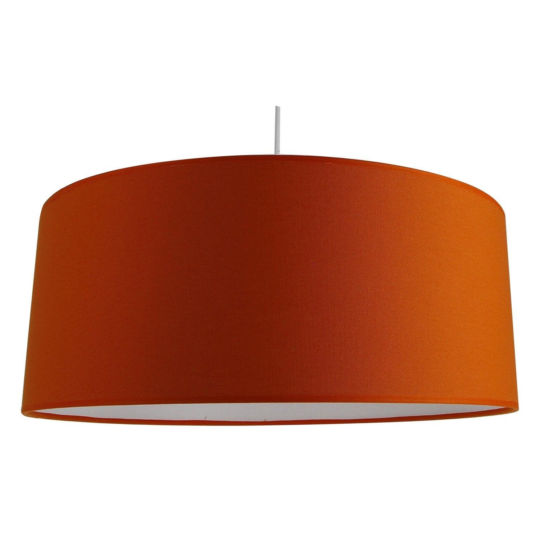 1x60w Metropolight Moderne Luminaire Potiron Orange Natt Coton Suspension E27 MzpSqUVG