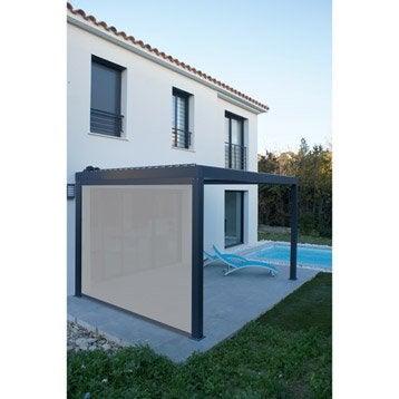 Store polyester gris l.0 x L.315 cm