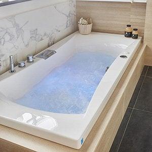 Baignoire balnéo, spa et sauna - Salle de bains | Leroy Merlin
