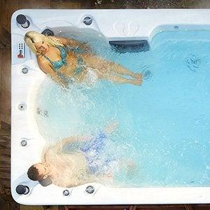 Baignoire baln o spa et sauna salle de bains leroy merlin - Location spa a domicile ...