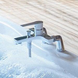 Robinet de salle de bains robinetterie leroy merlin - Reparer mitigeur thermostatique douche ...