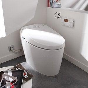 wc abattant et lave mains toilette leroy merlin. Black Bedroom Furniture Sets. Home Design Ideas