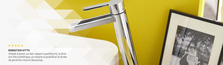 fabricant robinetterie salle de bain Robinet de salle de bains. Robinet bec haut