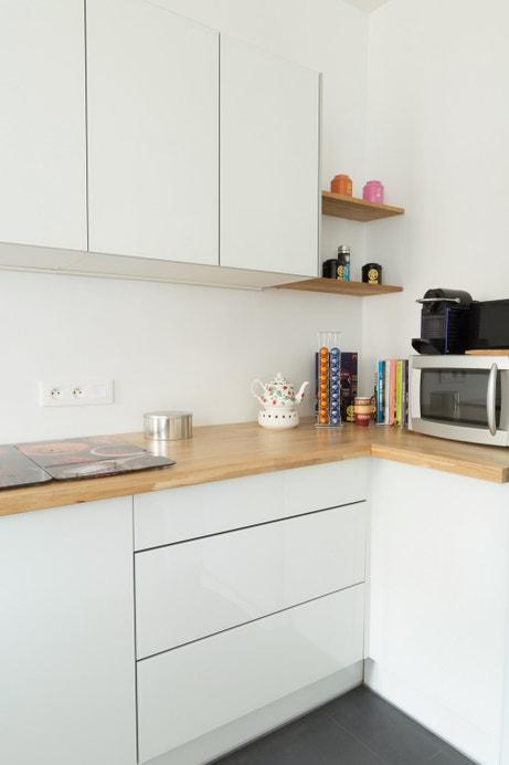 Les meubles de cuisine design de Suzanne à Paris