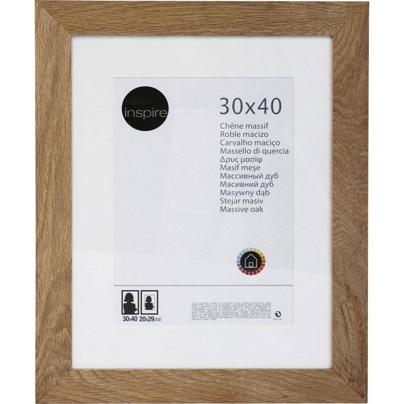 Cadre Nakato 30 X 40 Cm Chêne Clair