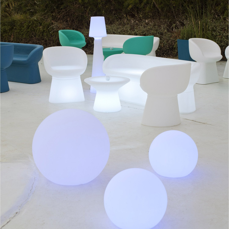 Boule Décorative Extérieure 60cm LED 3.25Wu003d220Lm, Multi Couleurs NEWGARDEN