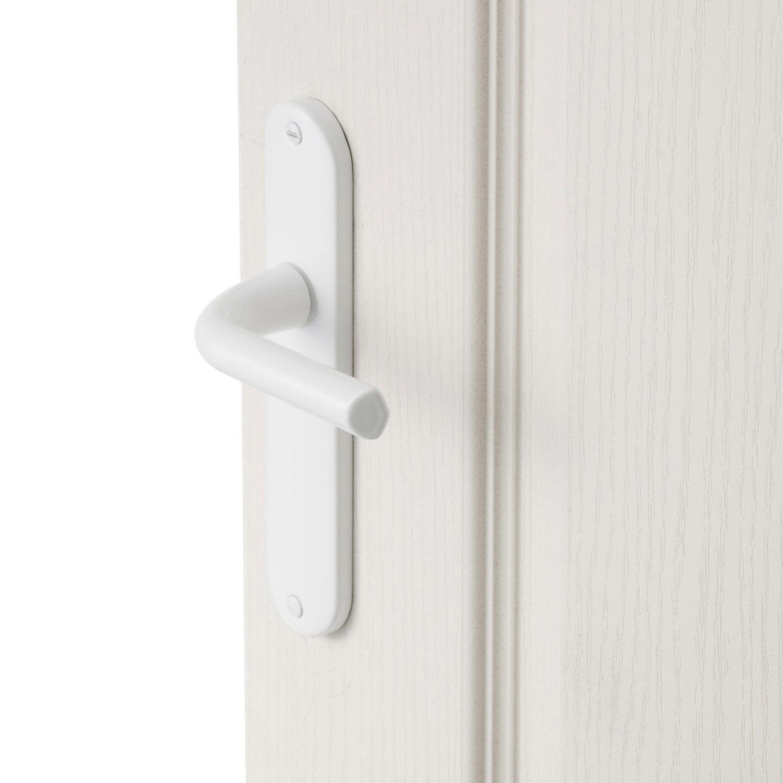 2 poign es de porte etoile sans trou aluminium 165 mm leroy merlin. Black Bedroom Furniture Sets. Home Design Ideas