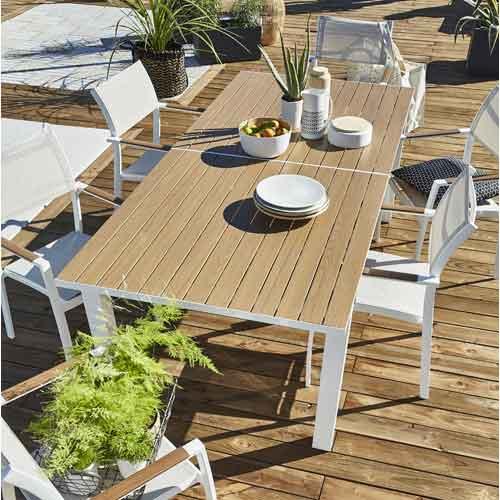 Salon de jardin et Mobilier de jardinTable Chaise VSUpqzM
