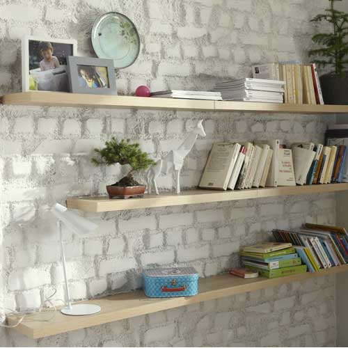 creer une etagere murale fabulous comment choisir et fixer ses tagres with creer une etagere. Black Bedroom Furniture Sets. Home Design Ideas