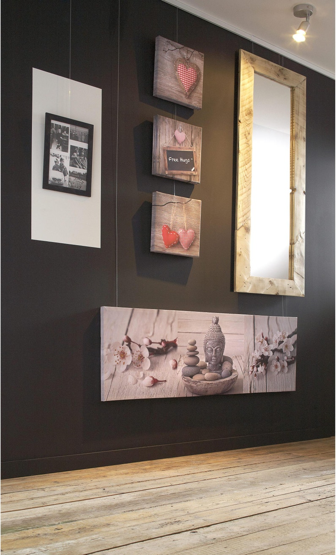 cadre nina, 21 x 30 cm, noir | leroy merlin