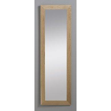 Miroir Nakato INSPIRE, chêne, l.30 x H.120 cm