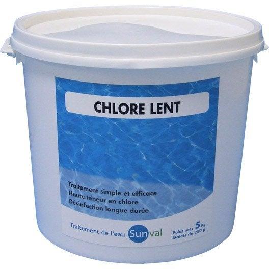 chlore lent piscine galet 5 kg leroy merlin. Black Bedroom Furniture Sets. Home Design Ideas