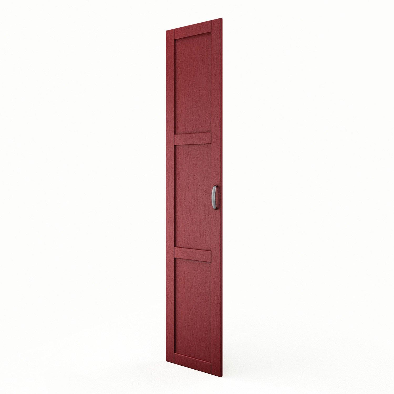 porte colonne de cuisine rouge rubis x cm leroy merlin. Black Bedroom Furniture Sets. Home Design Ideas
