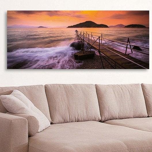 affiche toile et plaque murale au meilleur prix leroy merlin. Black Bedroom Furniture Sets. Home Design Ideas