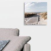 Verre imprimé Morning walk DECO GLASS l.20 x H.20 cm