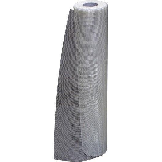 rouleau treillis de verre maillage 4x4cm prb 50mx1m leroy merlin. Black Bedroom Furniture Sets. Home Design Ideas