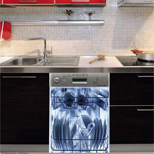 sticker lave vaisselle rayon x 59 cm x 70 cm leroy merlin. Black Bedroom Furniture Sets. Home Design Ideas