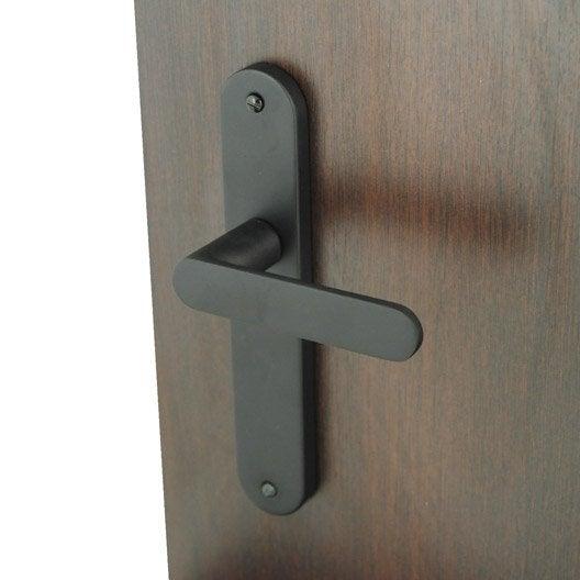 2 poign es de porte meudon sans trou aluminium 195 mm. Black Bedroom Furniture Sets. Home Design Ideas