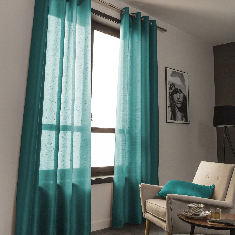 Accord parfait entre les rideaux et les coussins | Leroy Merlin