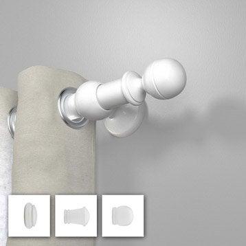 Tringle à rideau blanc brillant 250 cm INSPIRE