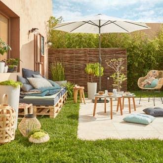Terrasse et jardin leroy merlin - Terrasse bois exotique leroy merlin ...