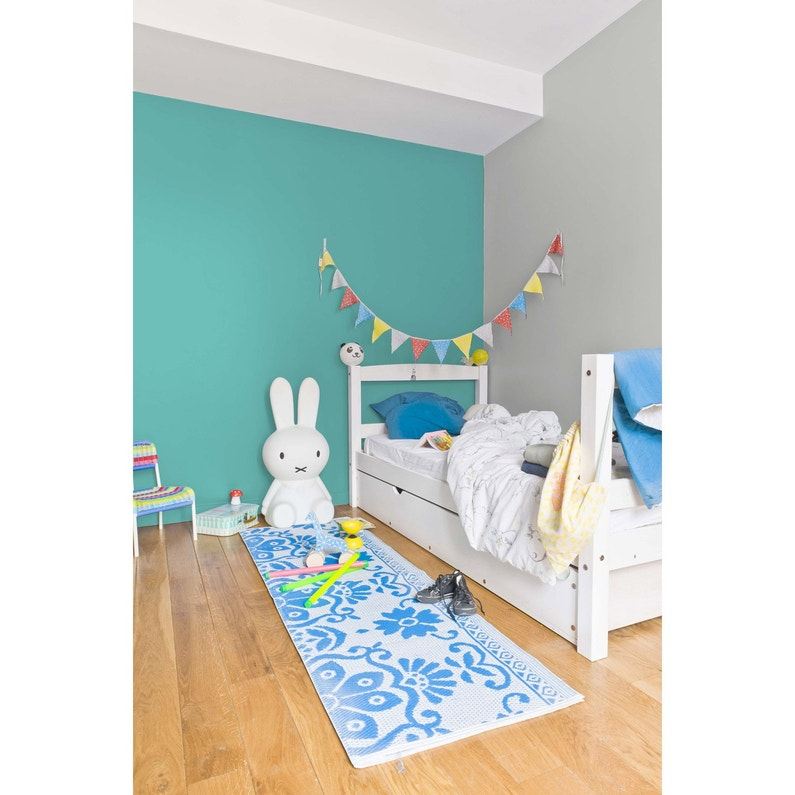 Peinture bleu turquoise satin RIPOLIN Chambre enfants 2.5 l