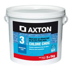 chlore 5 actions piscine axton galets 200g galet 5 l 6 kg leroy merlin. Black Bedroom Furniture Sets. Home Design Ideas
