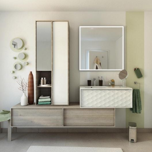Meuble de salle de bains, Neo frame | Leroy Merlin