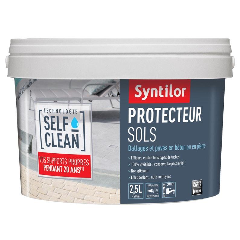 Imperméabilisant Sol Extérieur Self Clean Syntilor Incolore 25 L