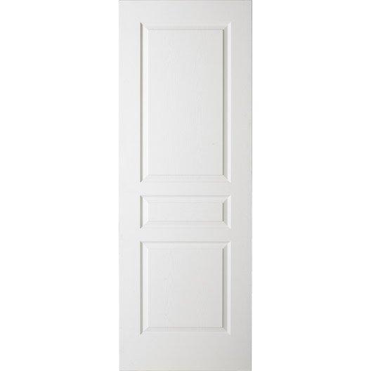 Porte coulissante postform e x cm leroy merlin for Porte 73 ou 83