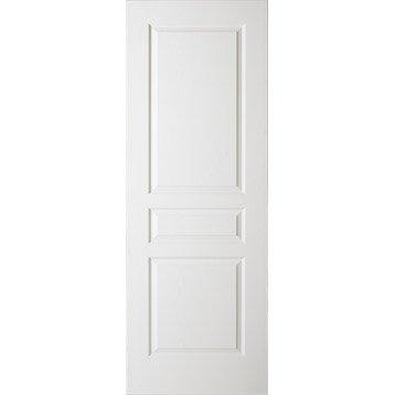 Porte coulissante postformée, H.204 x l.73 cm