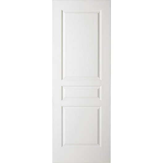 Porte coulissante postform e x cm leroy merlin for Porte 93 cm coulissante