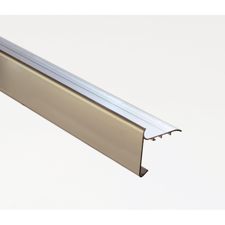 profil de rive pour toit plat iko gris mm x l 2 m. Black Bedroom Furniture Sets. Home Design Ideas