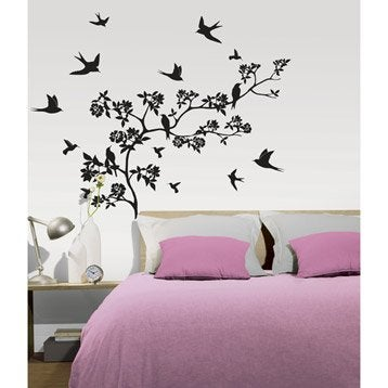 stickers muraux autocollant au meilleur prix leroy merlin. Black Bedroom Furniture Sets. Home Design Ideas