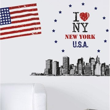 Sticker Big apple 47 cm x 67 cm